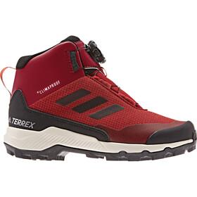 adidas TERREX Mid Boa Chaussures Enfant, maroon
